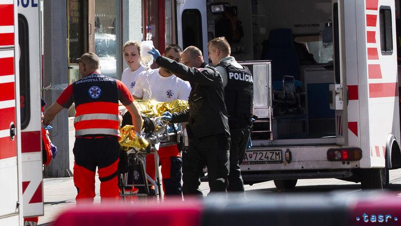 SR Bratislava polícia streľba Obchodná muž...