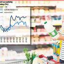 dynamika spotreby domácností, infografika