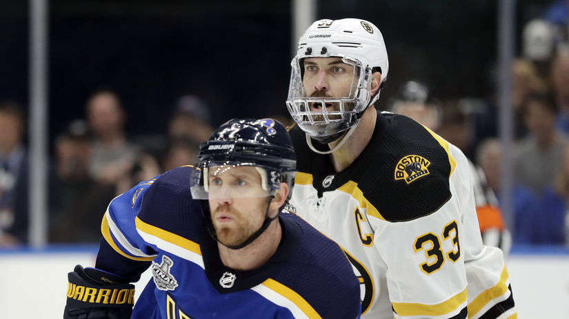USA Hokej NHL finále Chára Boston