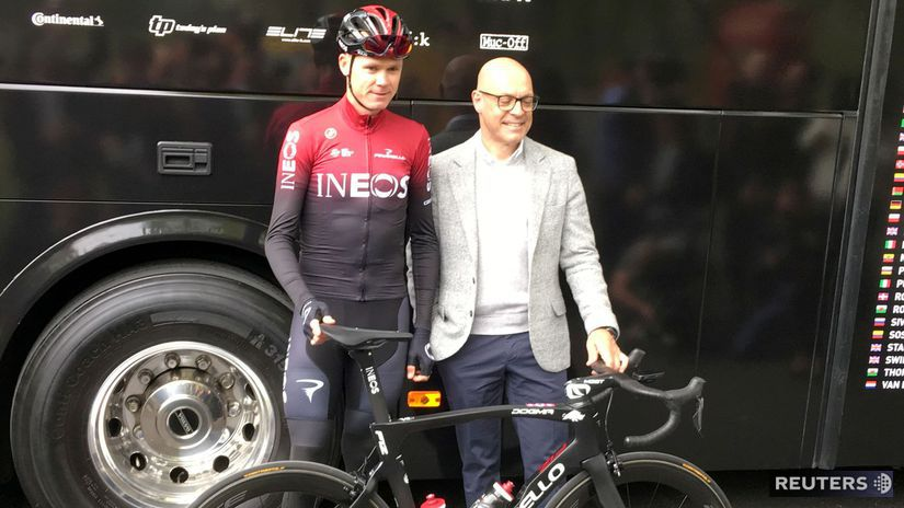 Chris Froome, Dave Brailsford