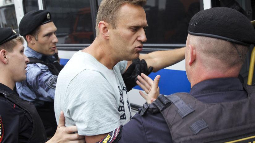 Rusko / Golunov / demonštranti / zatýkanie /...