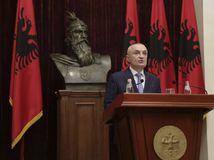 Albánsko / politická kríza / Ilir Meta /