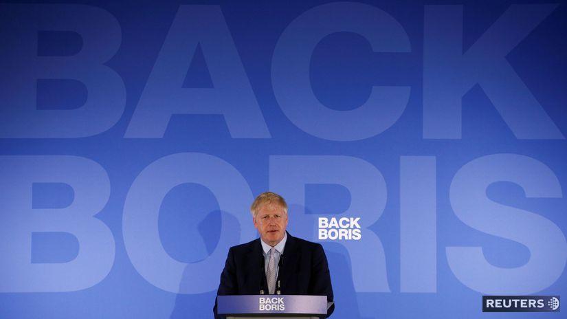 Britský exminister zahraničných vecí Boris...