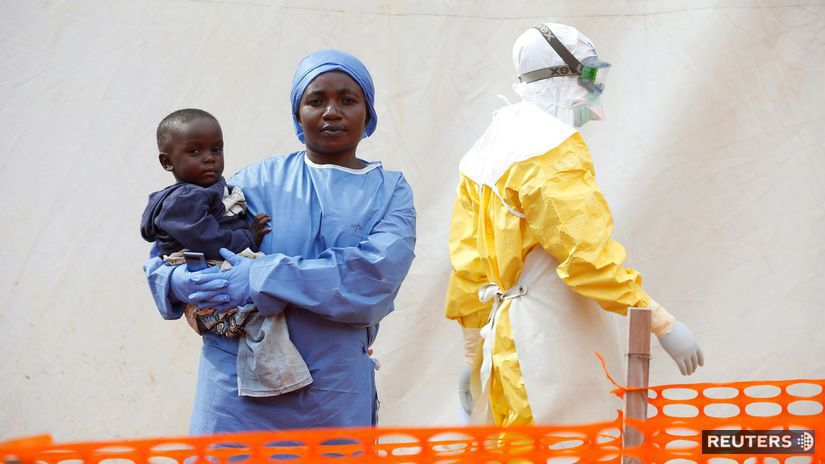 Kongo, ebola, černoch, zdravotník