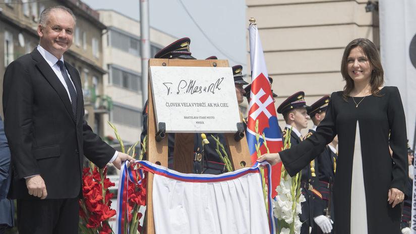 SR Bratislava Námestie T.G. Masaryk Otvorenie...