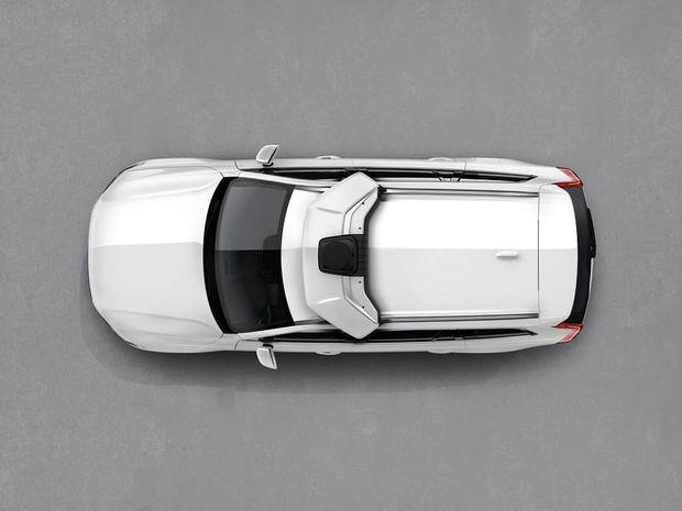Uber - autonómne Volvo XC90