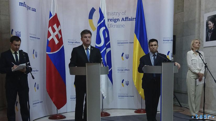 Ukrajina / SR / Lajčák / OBSE / pracovná cesta /