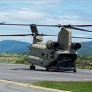 vrtuľník, Chinook, Letisko Pešťany