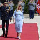 VIDEO Exkluzívne! Hanečka o šatách pre Zuzanu Čaputovú. Je v nich Dunaj, intuícia aj inšpirácia