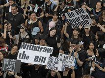 Hongkong, demonštrácie