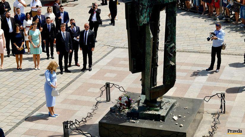 inauguracia prezidentky, caputova