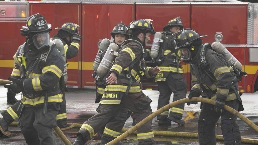 station 19, v ohni,