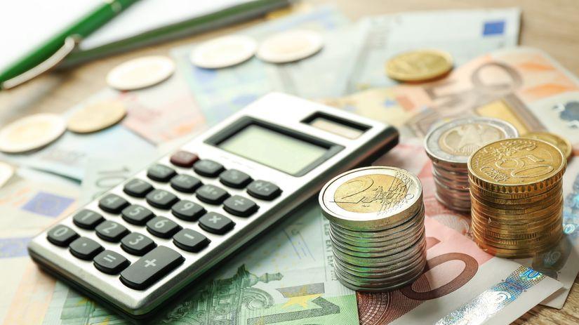 peniaze, euro, kalkulačka