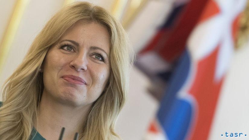 SR prezidentka zuzana Čaputová