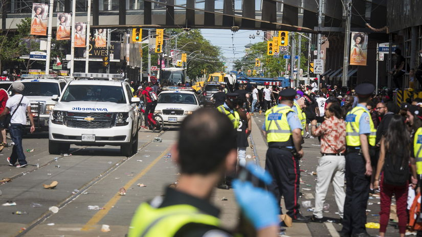 Toronto, streľba