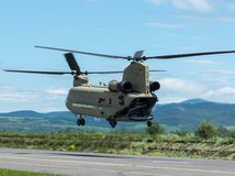 vrtuľník Chinook letisko Pešťany