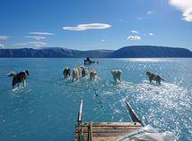 grónsko, klíma, oteplenie, topenie ľadovcov
