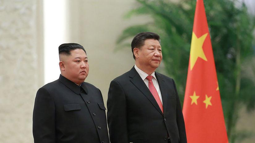 KĽDR / Čína /