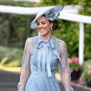 Kráľovská rodina vo farbe baby blue ako Čaputová! Na Kate bola radosť pozerať