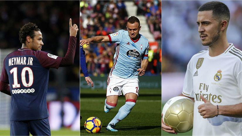 Neymar, Lobotka, Hazard