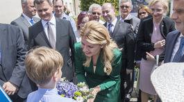 prezidentka Čaputová, návšteva Prahy