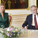 prezidentka Čaputová, prijatie, Zeman