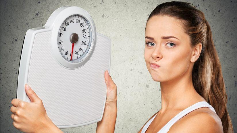 váha, chudnutie, diéta