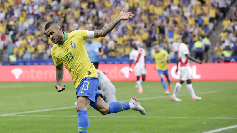 Brazília futbal Copa