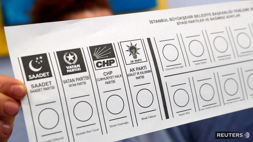Turecko / komunálne voľby /