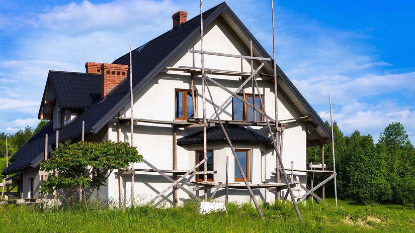 dom, zateplenie