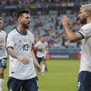 futbal argentína messi