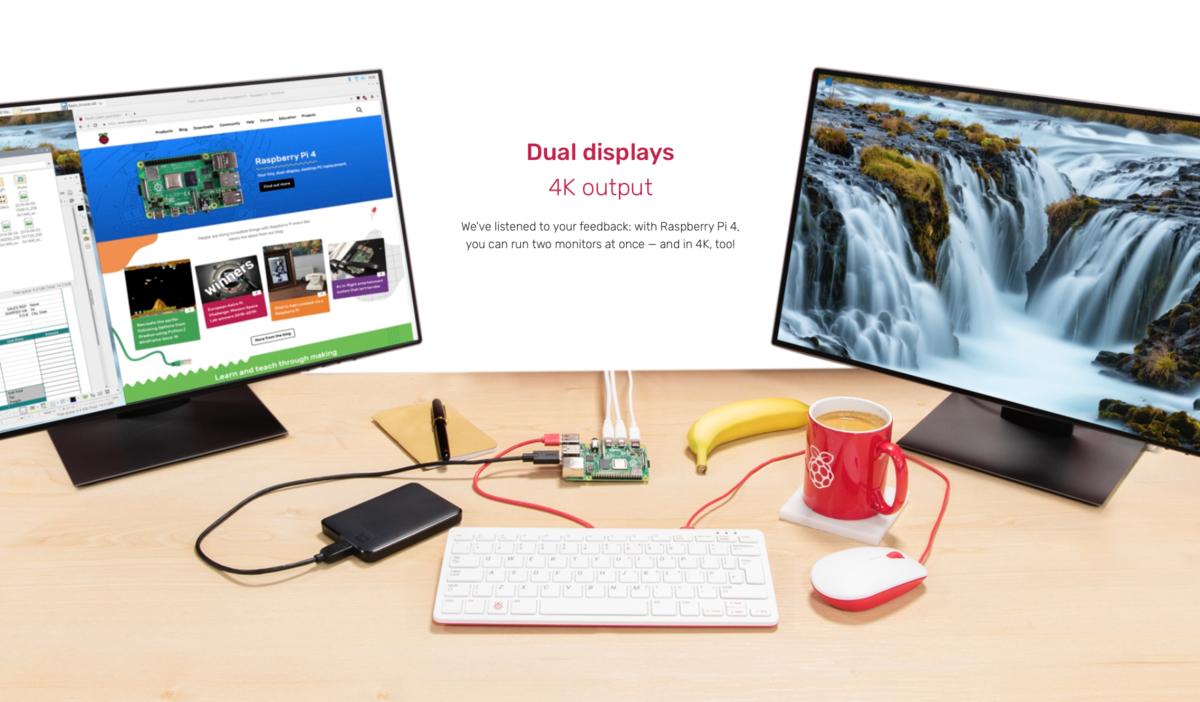 580fa04e0 Miniatúrny počítač Raspberry Pi za pár eur zvládne aj 4K rozlíšenie ...