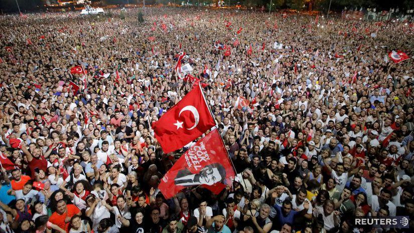 Turecko / voľba starostu /