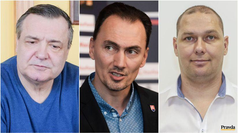 Dárius Rusnák, Miroslav Šatan, Jaromír Šmátrala