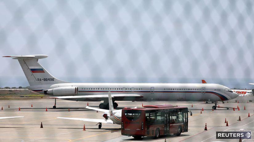 VENEZUELA, rusko, lietadlo, letisko, il-62
