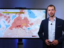 Videopredpoveď: Vrchol extrémnych trópov, potom čerstvý vietor a studený front