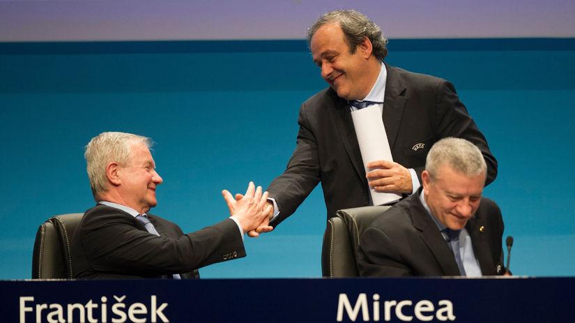František Laurinec, Michel Platini