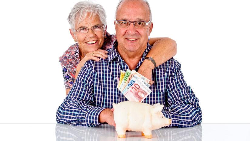peniaze, seniori, sporenie