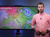 Videopredpoveď: Po páľave sa preženie severák a búrky. Pozor, aby vás neodfúklo!
