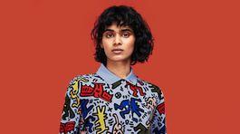 Tričko z limitovanej kolekcie značky Lacoste s animovanými motívmi Keith Haring. Momentálne už vo výpredajových cenách.
