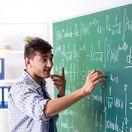 veda, vedec, škola, študent, tabuľa, matematika, vzorec