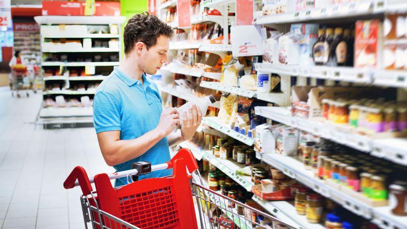 obchod, potraviny