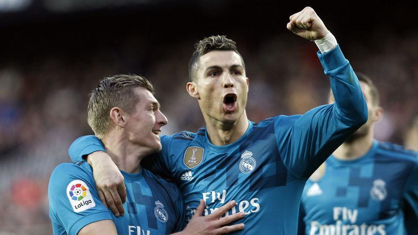 Kroos, Ronaldo