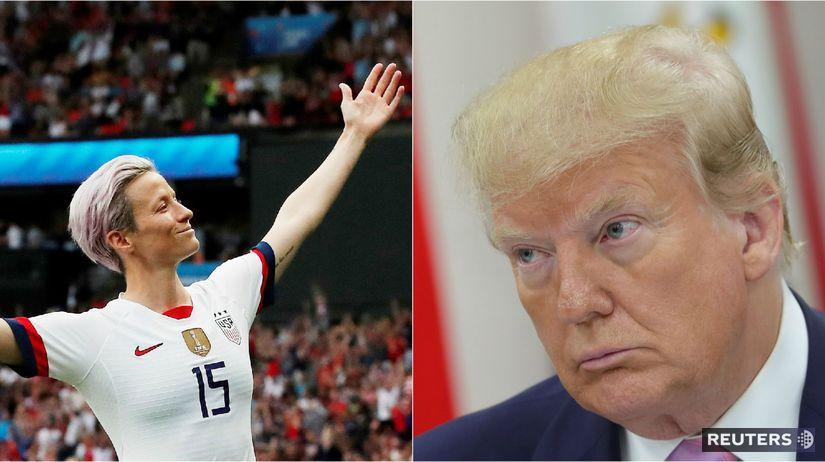 Megan Rapinoeová, Donald Trump