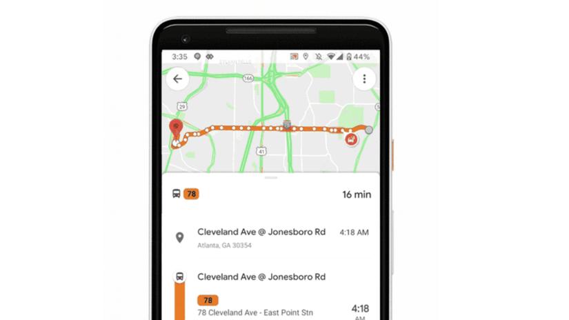 Google, Mapy Google