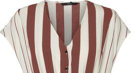Dámske prúžkované šaty VERO MODA, predávajú sa za 49,99 eura.