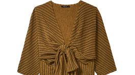 Dámske vzorované šaty Mohito, predávajú sa za 17,99 eura pred zľavou.