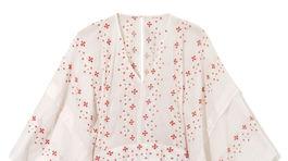 Dámske vzorované šaty Reserved, predávajú sa za 79,99 eura pred zľavou.