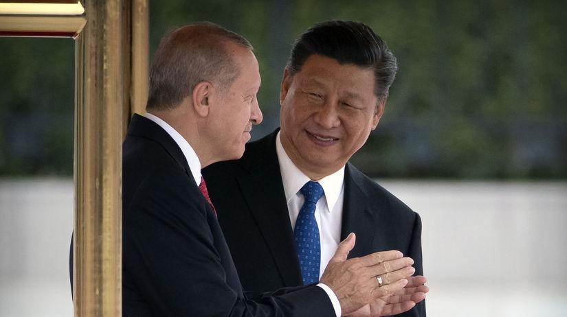 Čína / Turecko / Erdogan / Si Ťin-pching /