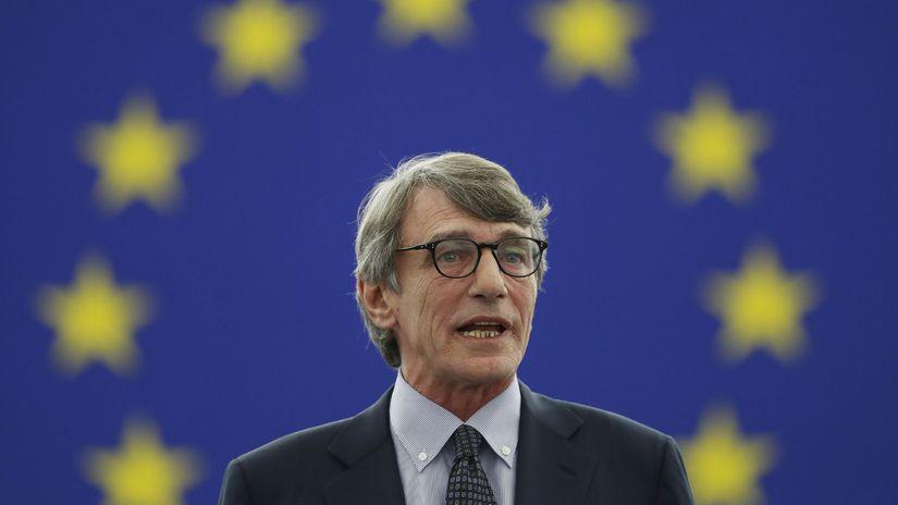 europarlament, EÚ, David-Maria Sassoli, EP,...